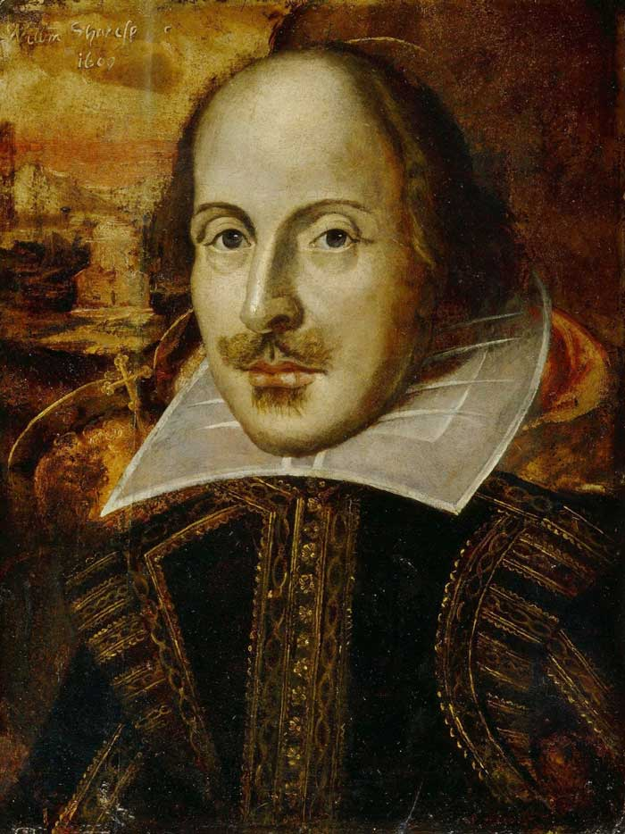 shakespeare retrato